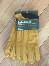 NEW Timberland Men's LRG Goat Leather Gloves Touchscreen Tips For Cell Phone J2