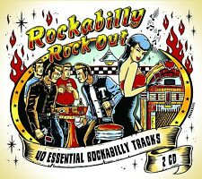 ROCKABILLY ROCKOUT  (Gene Vincent, Buddy Holly, Wanda Jackson) 2 CD NEU