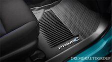 All Weather Floor Mat Black  2012-2016 Prius C Set of 4 PT206-52125-20