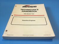1994 MerCruiser Gasoline Engines OEM Technicians Handbook 90-806535940
