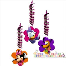 MINNIE MOUSE Clubhouse HANGING DECORATIONS (3) ~ Birthday Party Supplies Ceiling