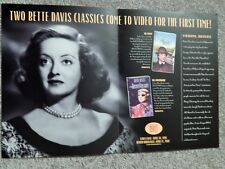BETTE DAVIS: NANNY / ANNIVERSARY (VIDEO DEALER  DELUXE BROCHURE 1996)COLLECTIBLE