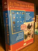Special Deal Learning to Tie Flies 12 DVD collection Jack Dennis DVD