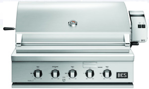 """DCS BH1-36R-N Series 7 36""""  Built-In Gas Grill w/871 Sq. In. Cooking Area"""