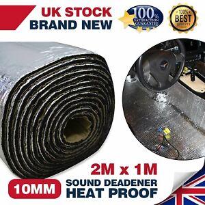 200cm×100cm Car Sound Deadening Mat Noise Bonnet Insulation Engine Hood Sticker