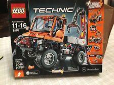 LEGO 8110 Technic Unimog U400 Mercedes Benz Off Road Truck Crane, new, sealed