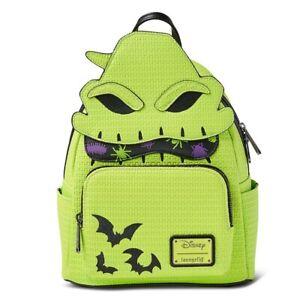 Oogie Boogie Loungefly Mini Backpack Disney Parks Nightmare Glow In The Dark NWT