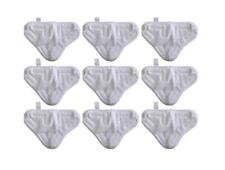 9 Microfibre Steam Mop Floor Washable Replacement Pads for H2O H20 X5 UK