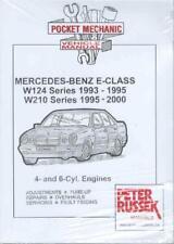 Workshop Manual Mercedes E Class W124 W210 Petrol 1993-2000  Service Repair
