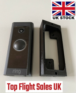 Ring Wired Video Doorbell Left Right Angle Mount Bracket Wedge 20 Degrees UK