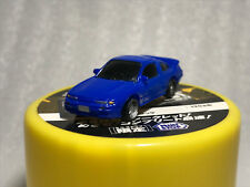 Initial D Nissan Sileighty RPS13 RUBBER MODEL CAR ministop Colored Car-Keshi