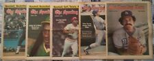 Five Full Issues The Sporting News 1977/78 No Mailing Labels Garvey Lopes Morgan