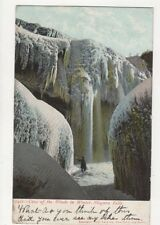 Cave Of The Winds In Winter Niagara Falls Vintage Postcard 464a
