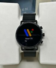 Skagen® Falster 2 Touchscreen Smartwatch w/ GPS Magnetic Steel-Mesh Band SKT5109