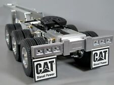 Aluminum Tamiya 1/14 R/C Semi Tractor Trailer 3 Axles Dolly 5th wheel Coupling
