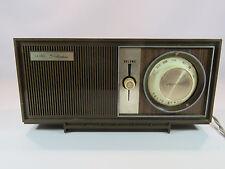 Sears Silvertone Vintage Transistor Radio Model # 6002 Deep Brown JH