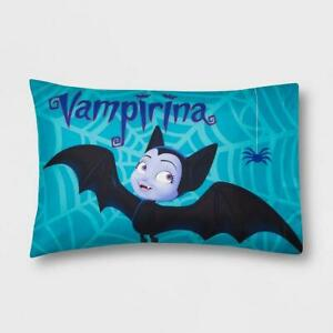 "Disney Junior Girls Vampirina Reversible Standard Pillowcase 20""x30"" 1 Pack New"