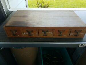 Antique card catalogue (wood)KYU!
