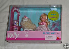 NEW Mattel Barbie Kelly Pretty Kitty Playset Doll Cat 2000 50306