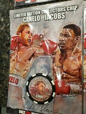 Canelo vs. Jacobs Limited Edition Boxing Chip by Richard T. Slone