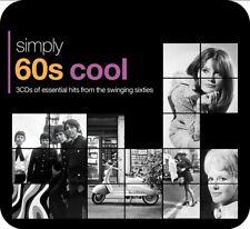 SIMPLY 60S COOL (3CD TIN)  3 CD NEUF