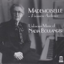 [BRAND NEW] 2CD: MADEMOISELLE: UNKNOWN MUSIC OF NADIA BOULANGER