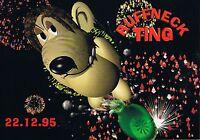 RUFFNECK TING Rave Flyer Flyers 22/12/95 A5 Lakota Bristol