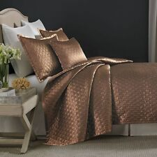 """Candice Olson Ventura Loop One King Quilted Pillow Sham 20"""" x 36"""" Browns"""