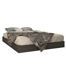 Nexera 346030 Queen Size Platform Bed- Ebony NEW