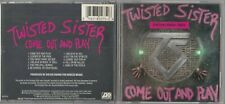 Twisted Sister - Come Out & Play (CD 1985 Atlantic) EARLY WEST GERMANY PRESS