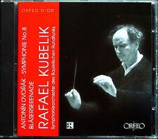Rafael Kubelik: Dvorak Symphony No. 8 & Serenade For Winds Orfeo 1976/77 LIVE CD