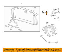 GM OEM-Radiator Core Support Mount Bolt 11609989