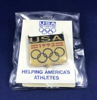 1992 Albertville U.S.  Olympic Pins- Lot of 19 Collectible