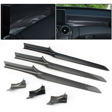 Carbon Fiber Center Console Dashboard Cover Trim for Mercedes-Benz C class W205