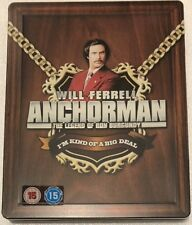 Anchorman Steelbook - UK Exclusive Limited Edition Blu-Ray