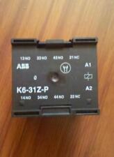 NEW  ABB K6-31Z-P / 220V contact relay elevator