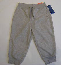 REEBOK Elements 3/4 Capri Pants /Track Fitness Pants French Terry Size X Small
