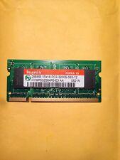Hynix 256MB 1Rx16 PC2-3200S -333-12 SODIMM Laptop Memory
