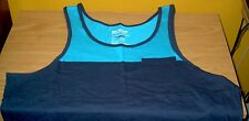 Mens Casual Tank top Shirt, Blue, Urban Pipeline, Size Large, New w/ Tag