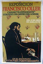 Antonio Martorell 64 Cartel Exp Francisco Oller Poster Serigraph Puerto Rico ICP