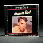 Jacques Brel - Master Serie - music cd album