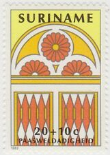 (SU24) 1982 SURINAME Easter 5set ow1072-76