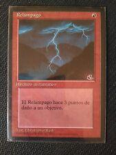 MTG x1 ♦ Lightning Bolt ♦ 4th ed FBB ♦ NM ♦ Spanish ♦ Magic The Gatering