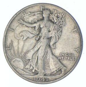 Better 1941-S - US Walking Liberty 90% Silver Half Dollar Coin Set Break *523
