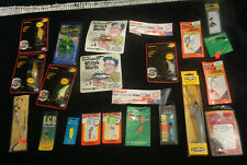 New listing Huge Lot Of 40 Fishing Lures And Accessories Lures Bait Weights L@K Nice