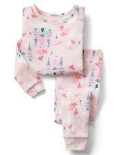 GAP Baby / Toddler Girls Size 5 Years / 5T Fairy Princess Castle Pajamas PJ Set