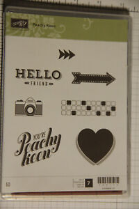"Stampin' Up!  ""Peachy Keen"" Stamp Set"