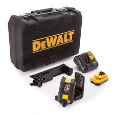 Dewalt DCE088D1G 10.8v self leveling cross line laser vert - 1x 2.0Ah batterie