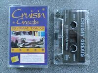 CRUISIN GREATS 1 - VARIOUS ARTISTS -  ALBUM - CASSETTE TAPE