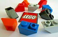 LEGO Inverted Slope 45° 1x2 Bricks (Packs of 8) Choose Colour - Design ID 3665